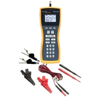 Fluke TS54 PRO Test Set with TDR 4 MM Banana Extra Large Alligator Clips Test Probe