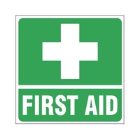 First Aid Sign for Vehicle (100x100mm)