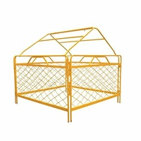 TMG Pit / Manhole Guard with Tent Frame