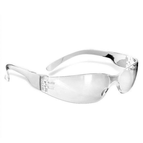 Safety Glasses - Clear, Anti-Fog, Clear frame and Lens