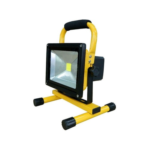 Portable 20W LED Portable Flood Light with 1 rechargable battery